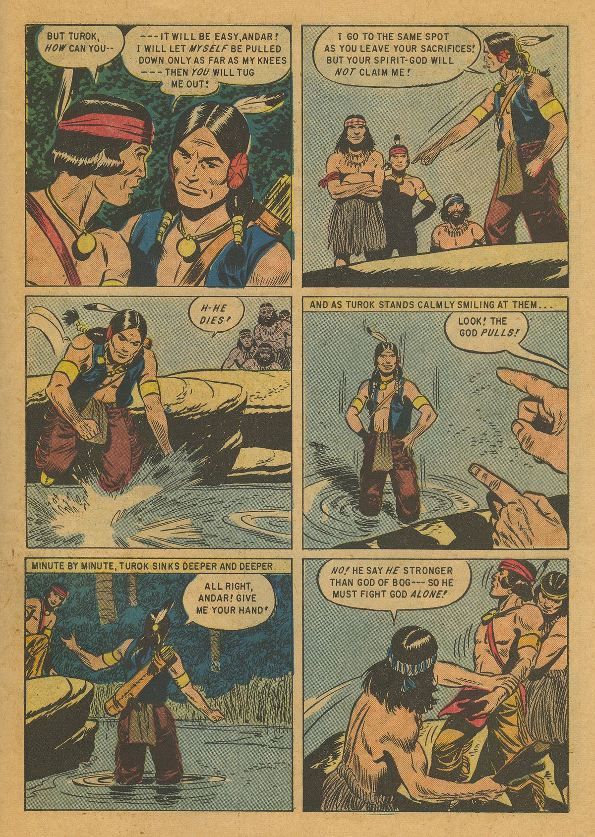 Read online Turok, Son of Stone comic -  Issue #10 - 27