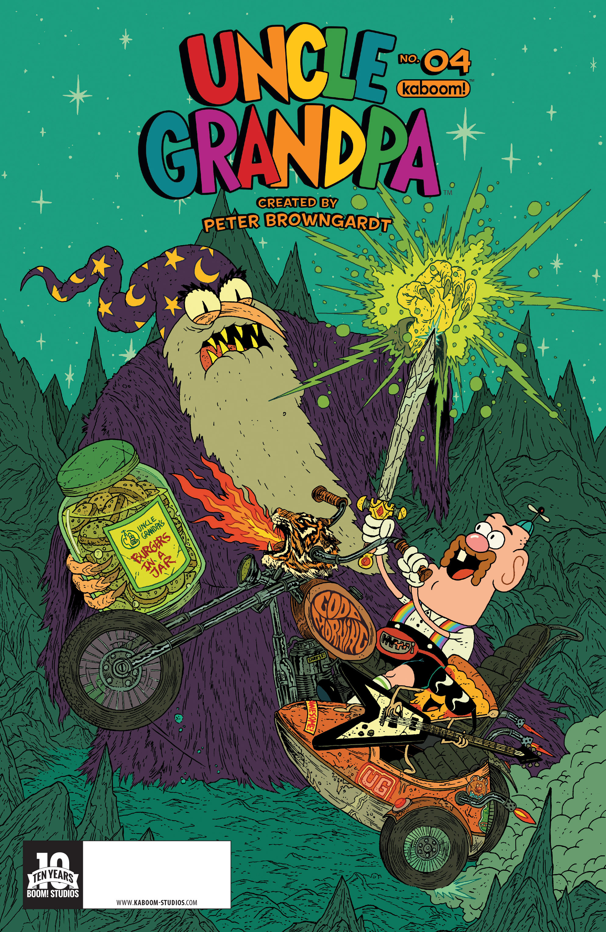 Read online Uncle Grandpa comic -  Issue #4 - 1