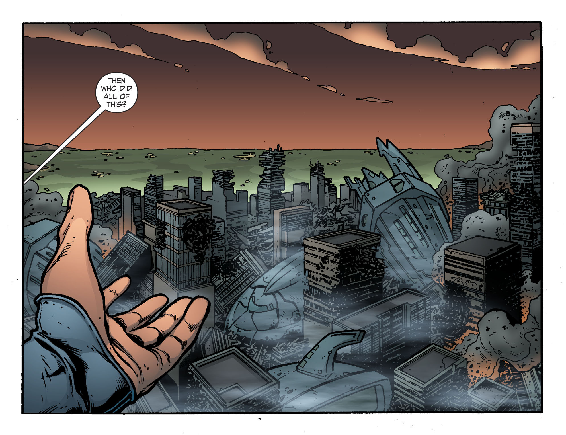 Read online Smallville: Chaos [II] comic -  Issue #7 - 6
