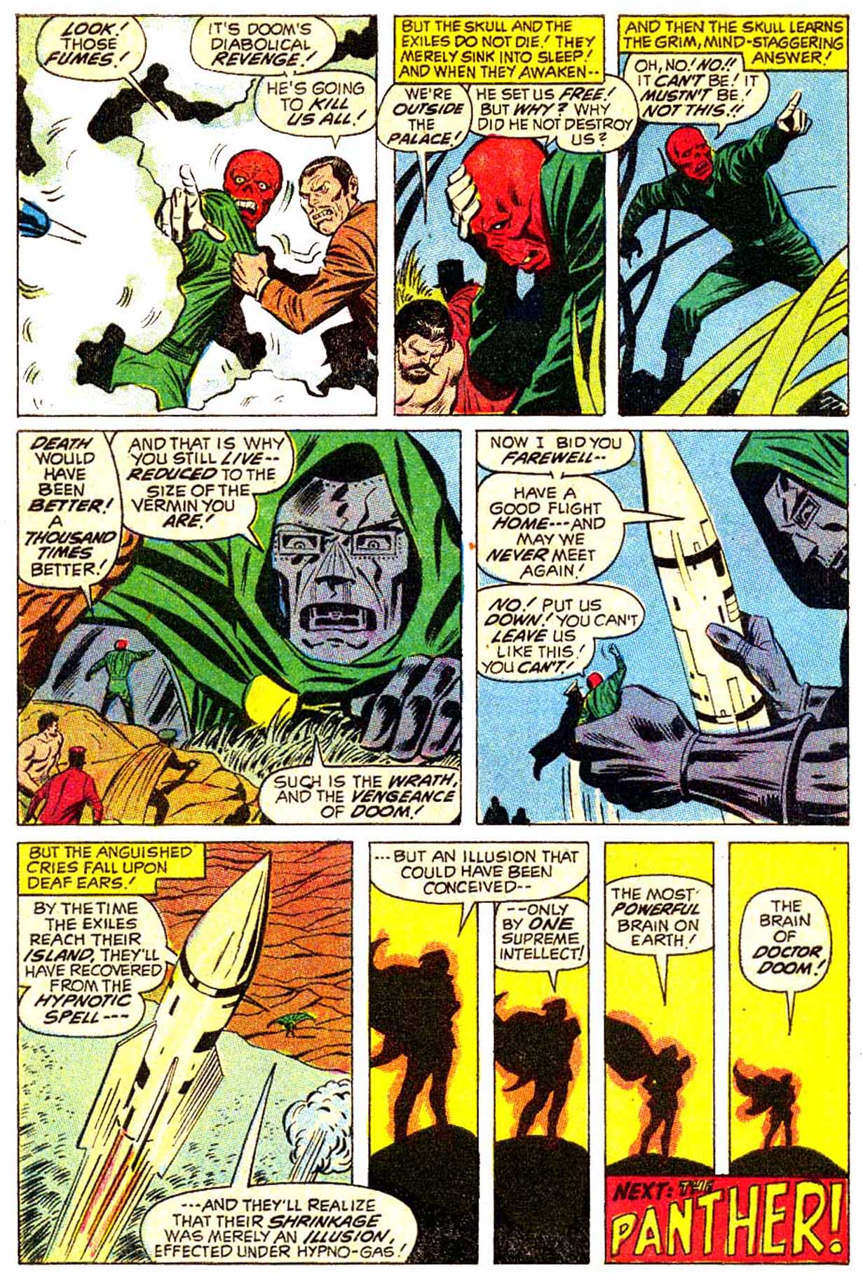 Read online Astonishing Tales (1970) comic -  Issue #5 - 11