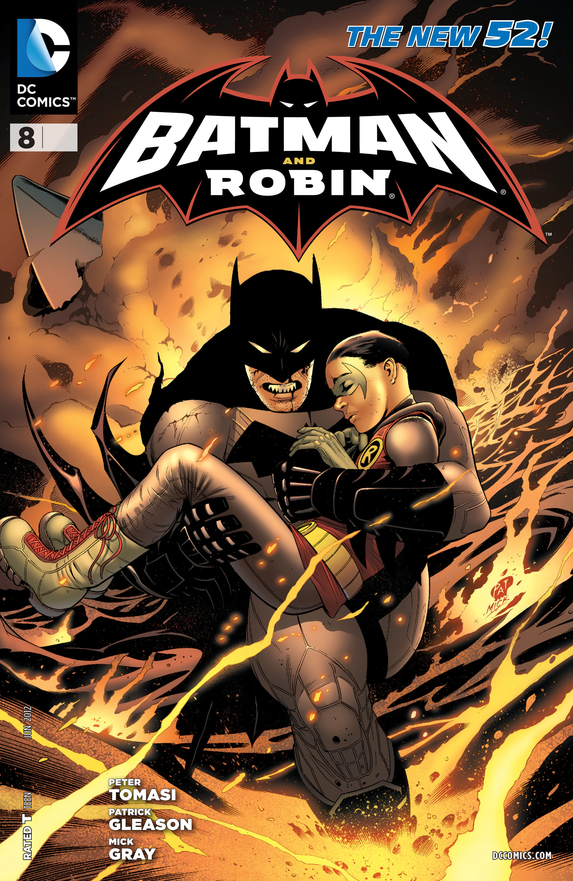 Read online Batman and Robin (2011) comic -  Issue #8 - 1