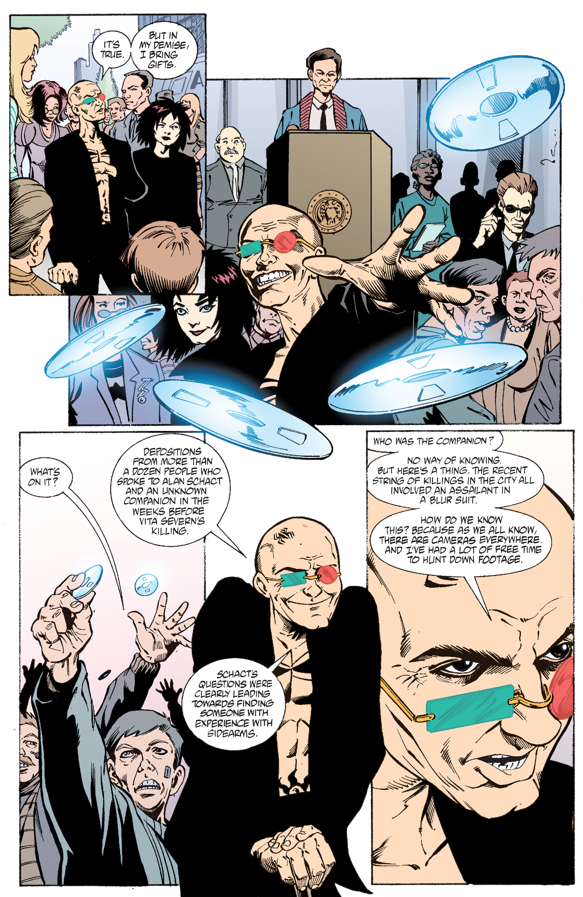 Read online Transmetropolitan comic -  Issue #47 - 18