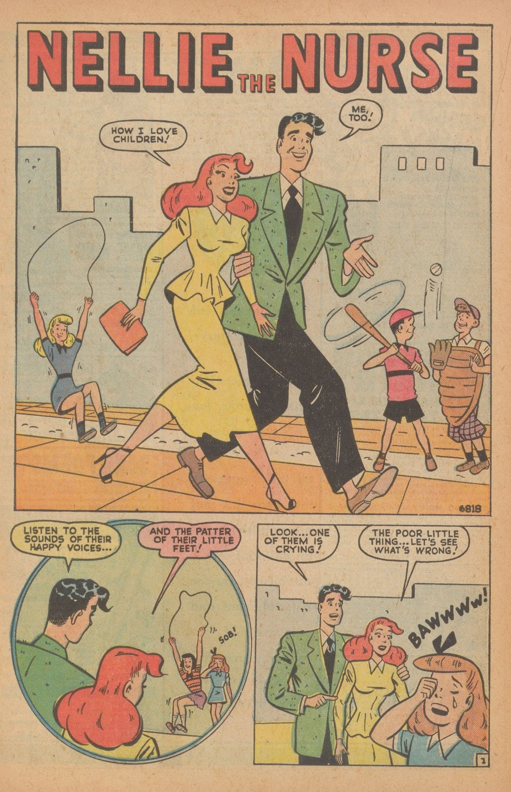 Read online Nellie The Nurse (1945) comic -  Issue #22 - 32