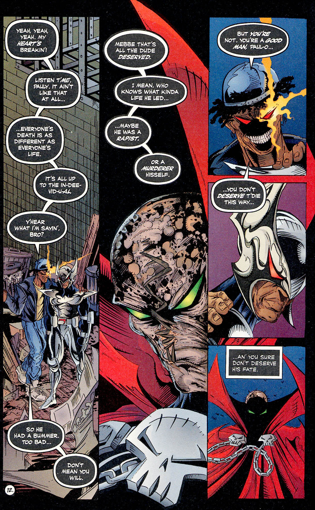 Read online ShadowHawk comic -  Issue #17 - 12