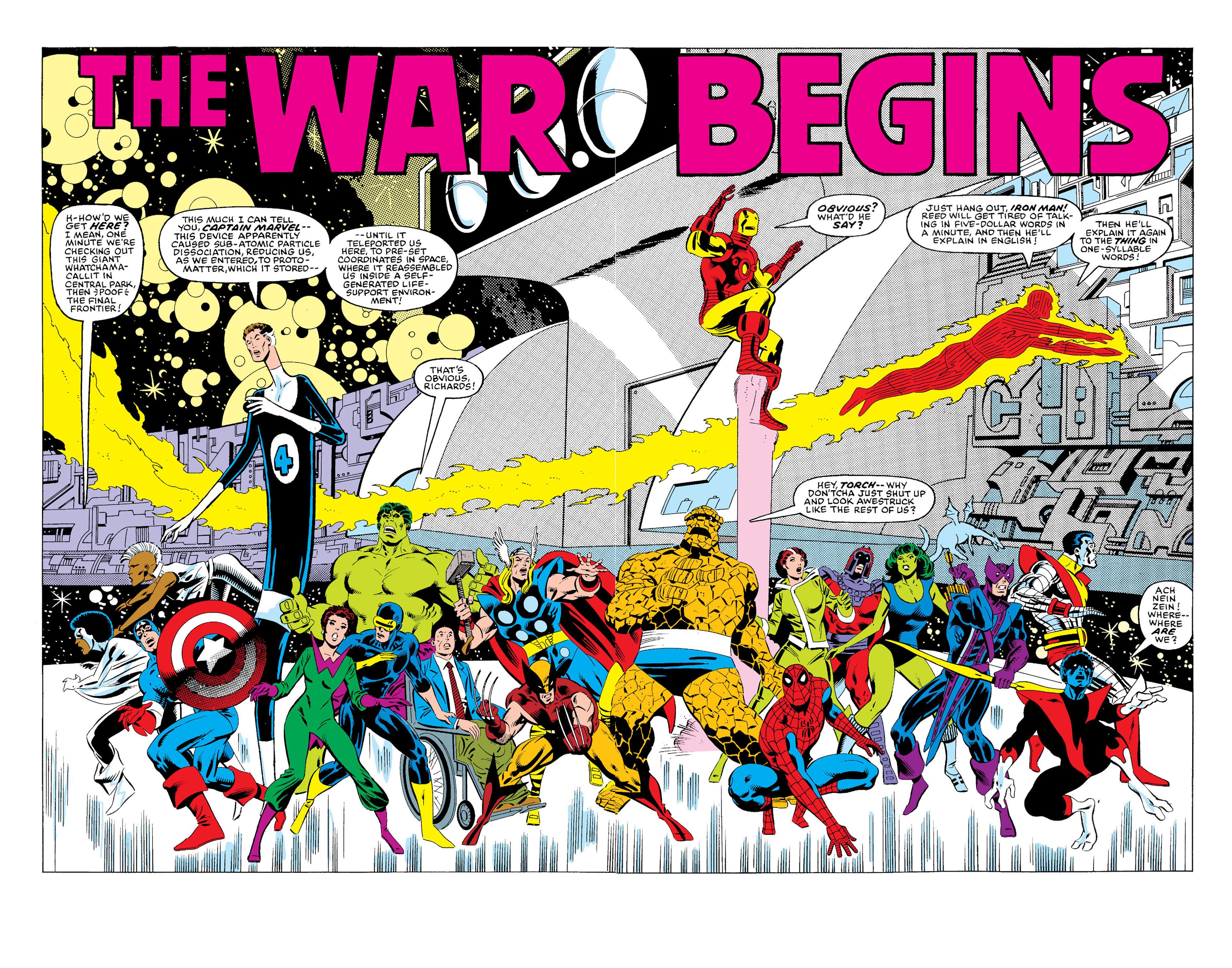 Read online Secret Wars (1985) comic -  Issue #1 - 3