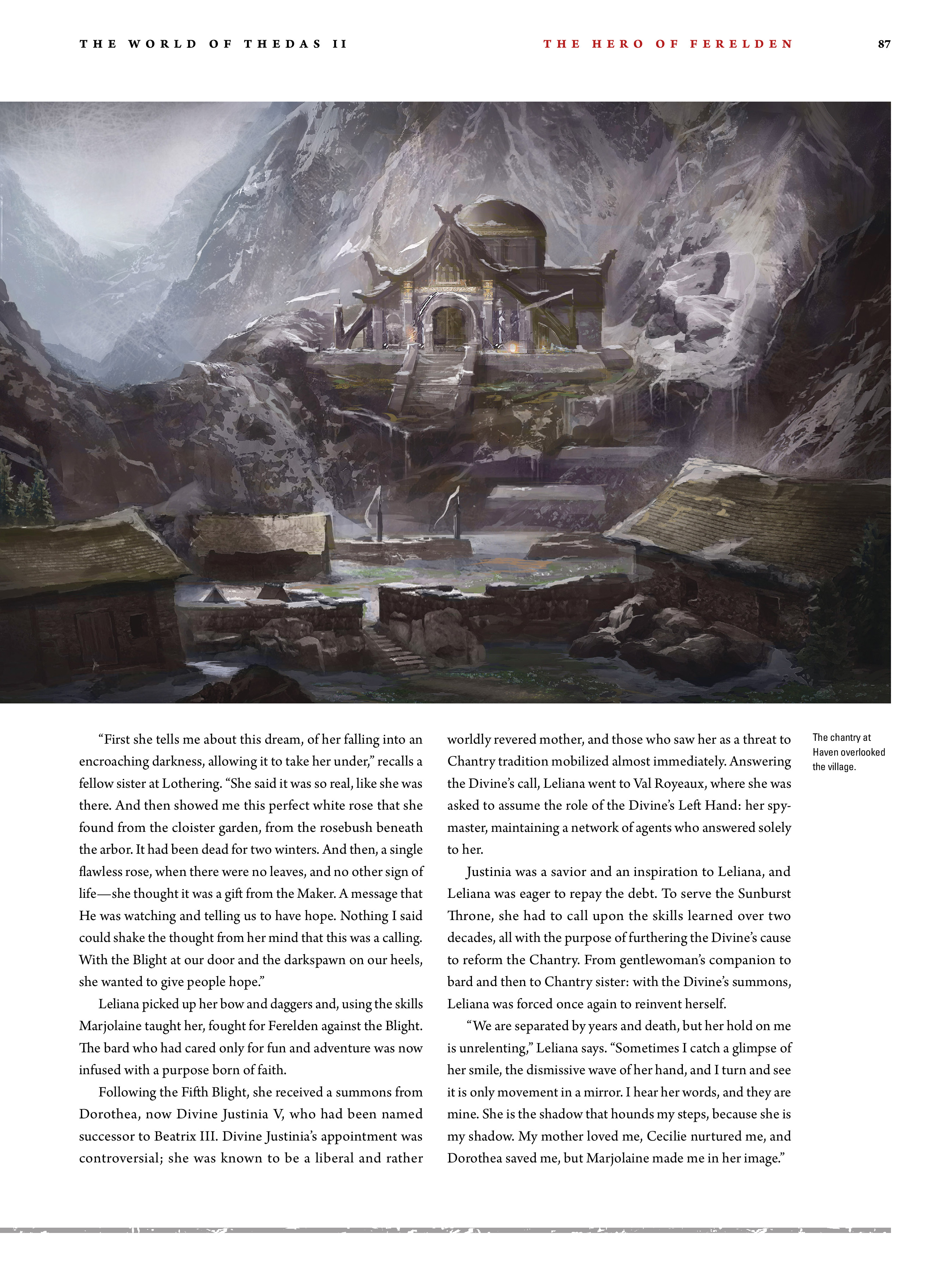 Read online Dragon Age: The World of Thedas comic -  Issue # TPB 2 - 83