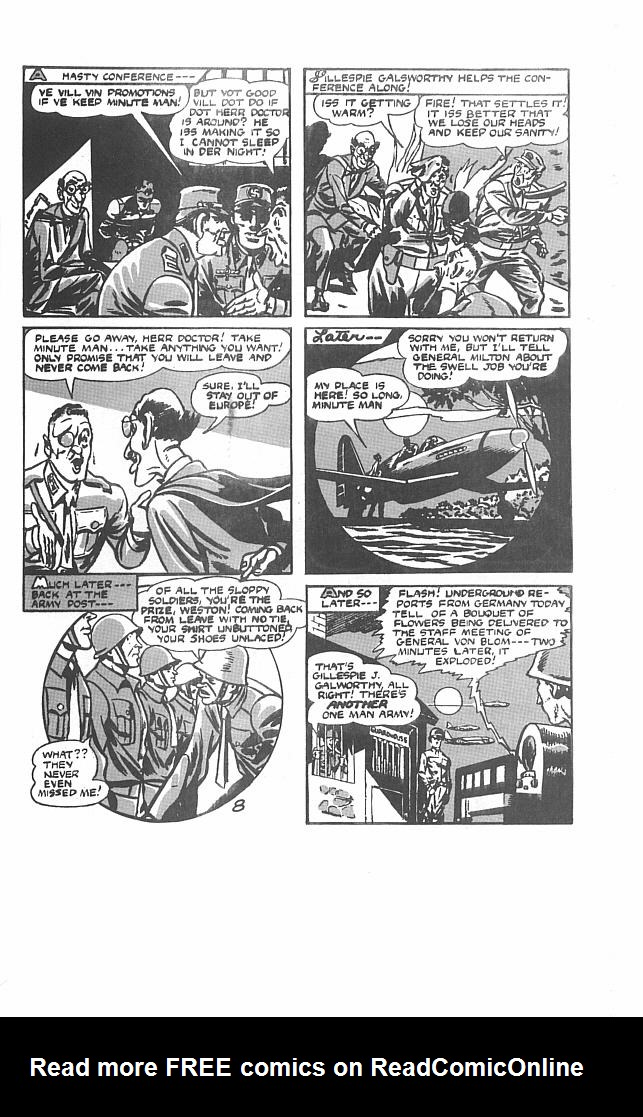 Read online Men of Mystery Comics comic -  Issue #30 - 33