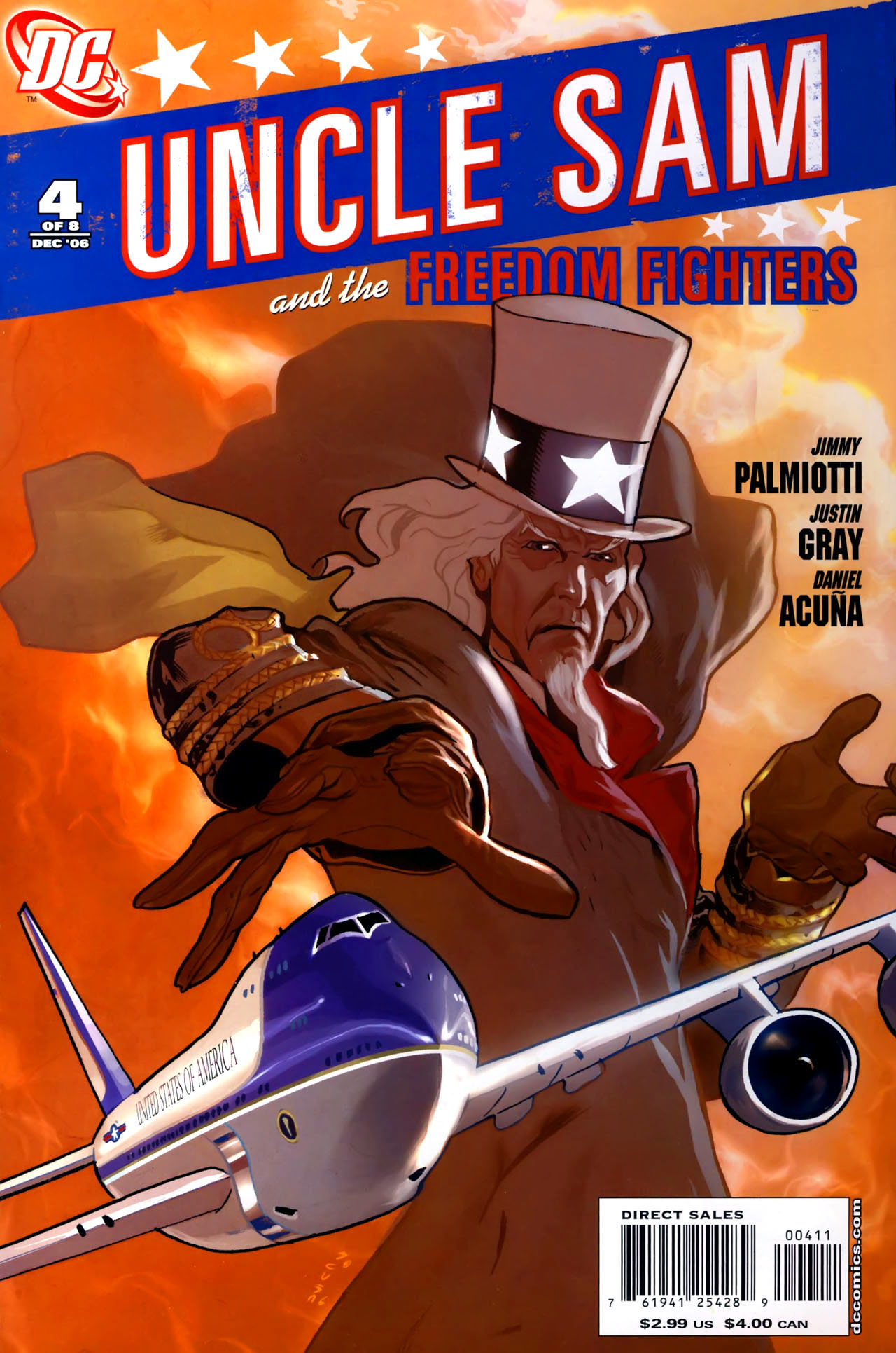 Read online Uncle Sam and the Freedom Fighters (2006) comic -  Issue #4 - 1