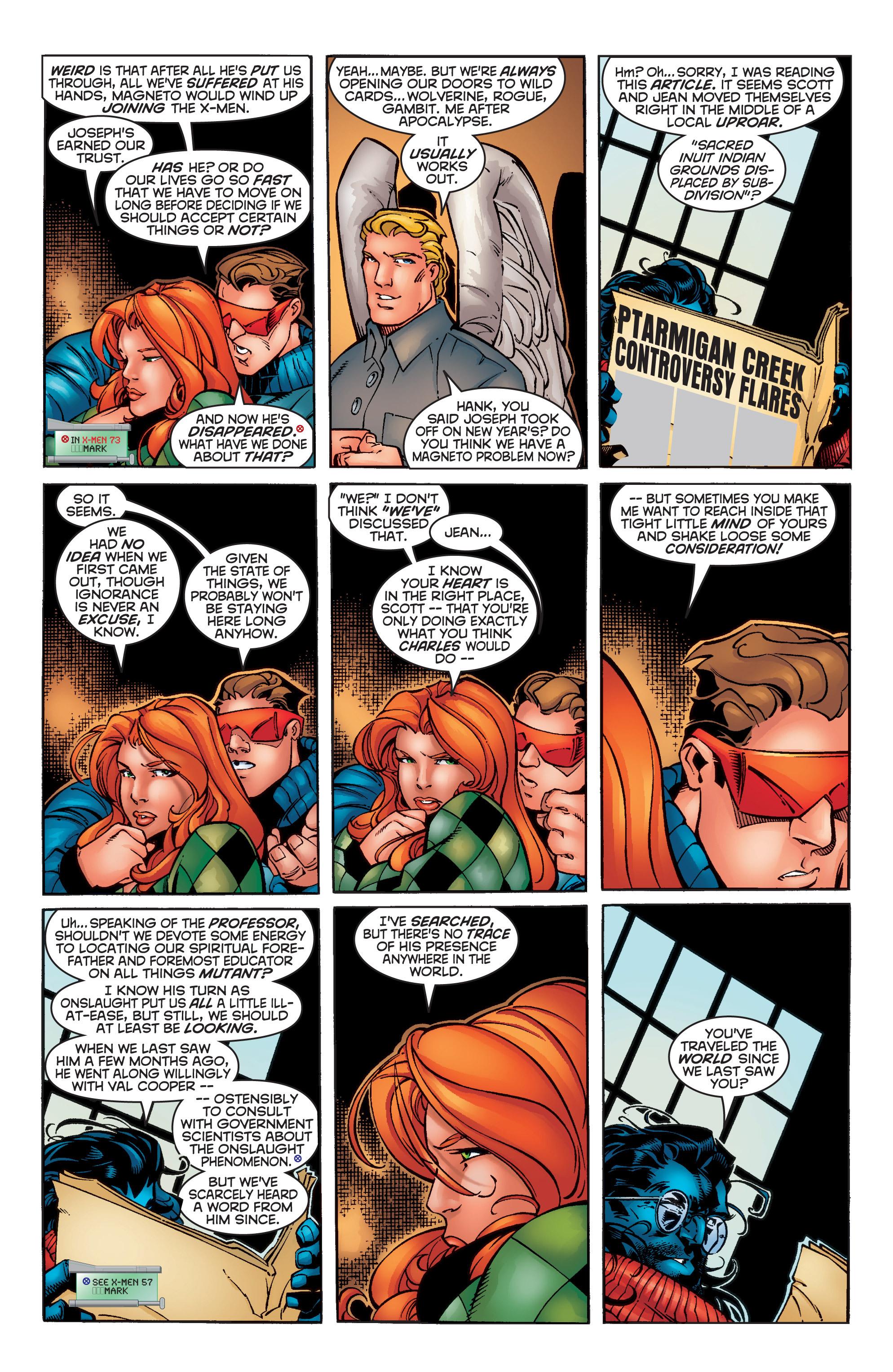 Read online Uncanny X-Men (1963) comic -  Issue #356 - 16