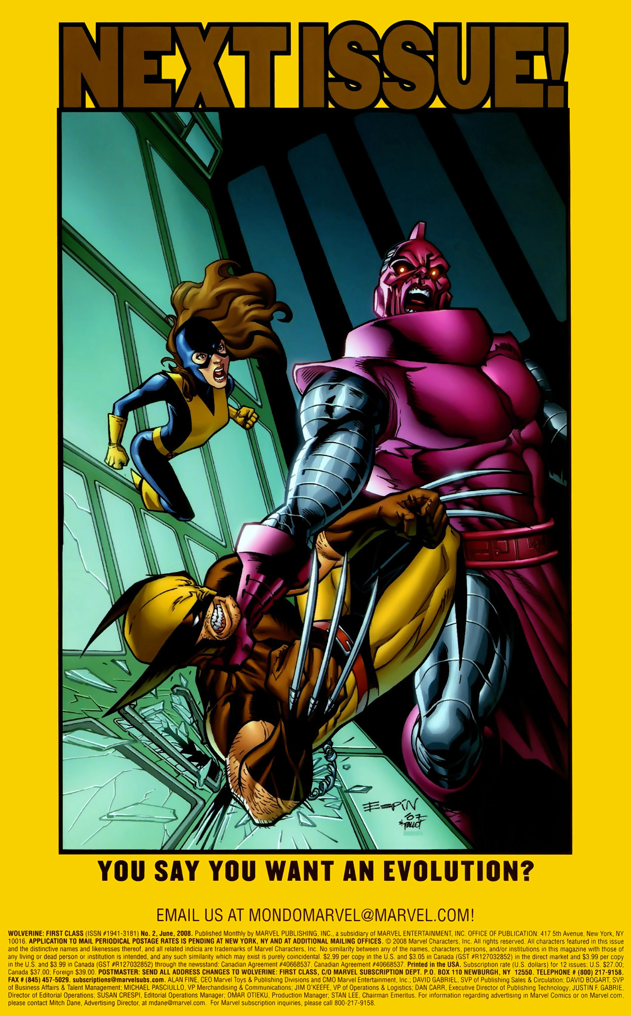 Read online Wolverine: First Class comic -  Issue #2 - 24