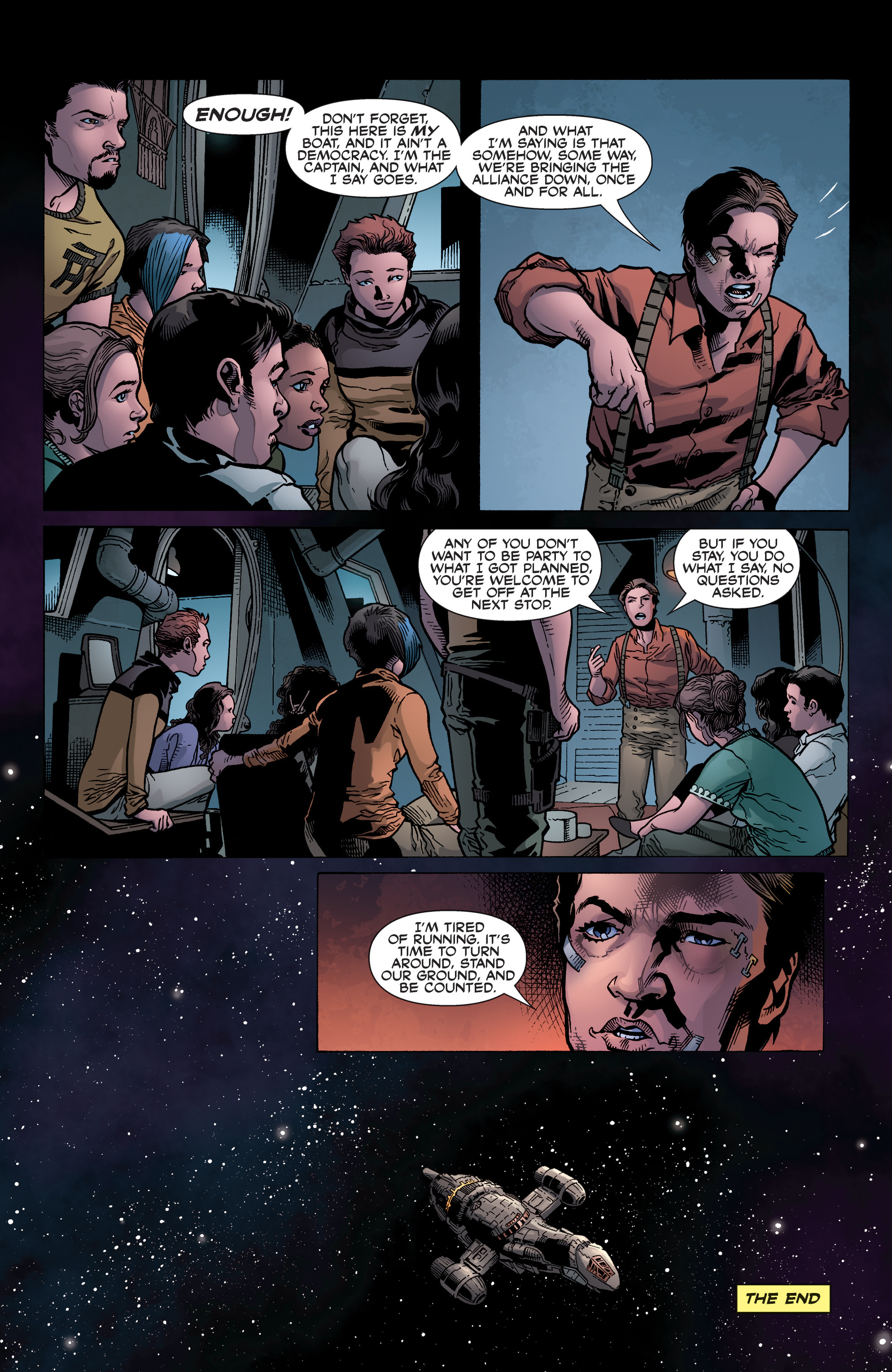 Read online Serenity: Firefly Class 03-K64 – No Power in the 'Verse comic -  Issue #6 - 25