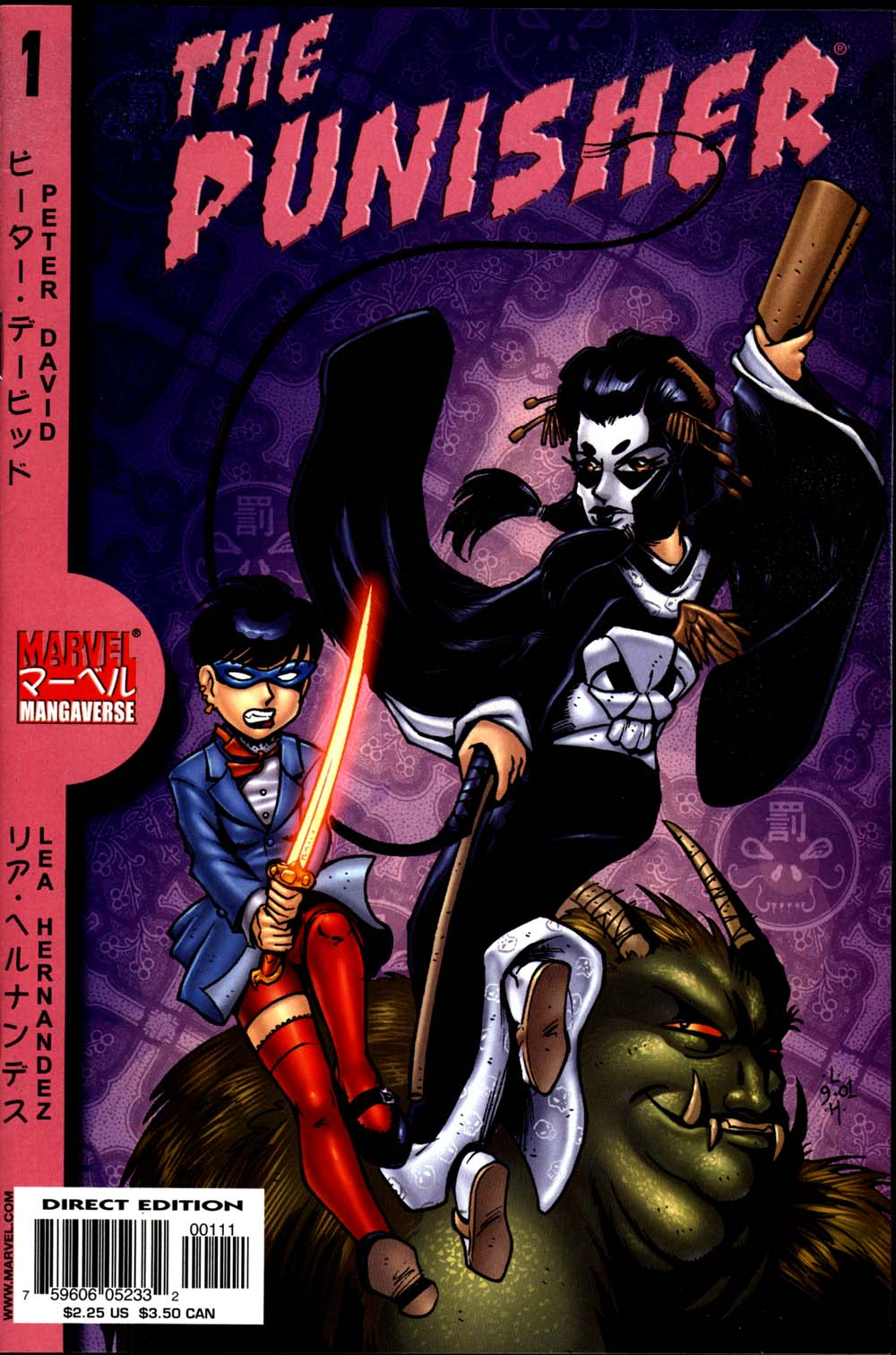 Marvel Mangaverse: Punisher Full Page 1
