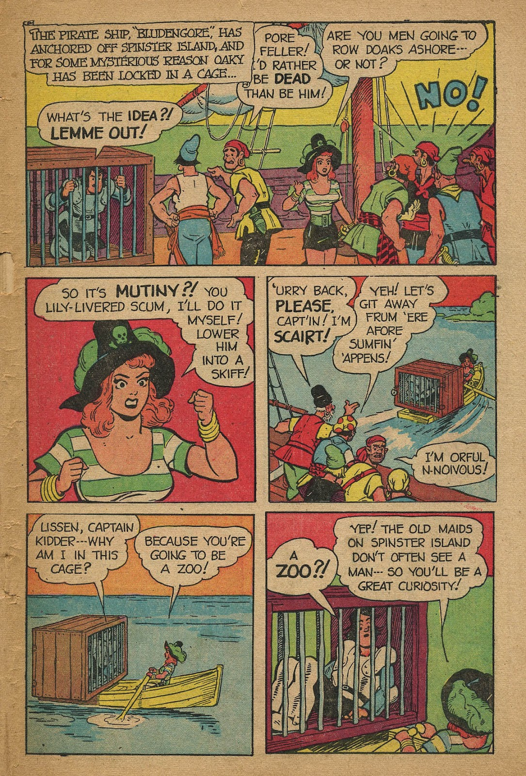 Read online Famous Funnies comic -  Issue #162 - 47