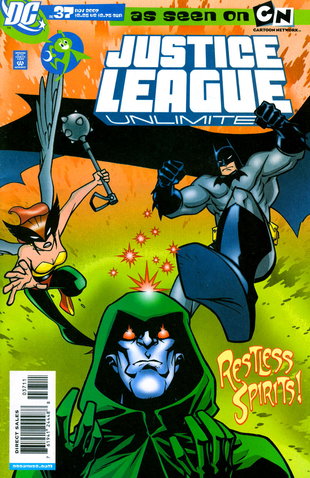 Justice League Unlimited 37 Page 1