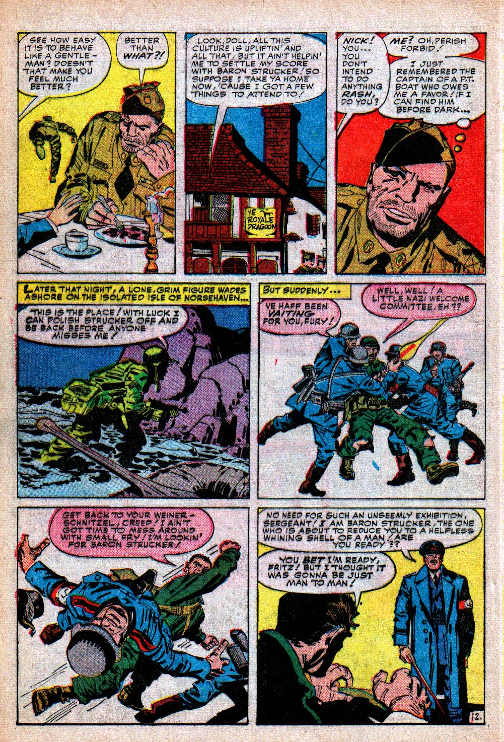 Read online Sgt. Fury comic -  Issue #5 - 16