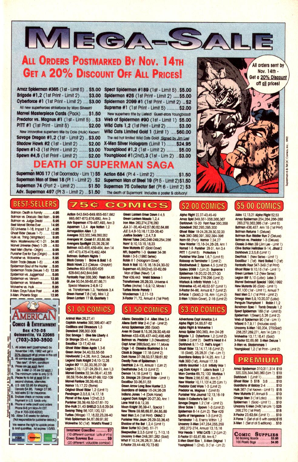 Read online Adventures of Superman (1987) comic -  Issue #497 - 10