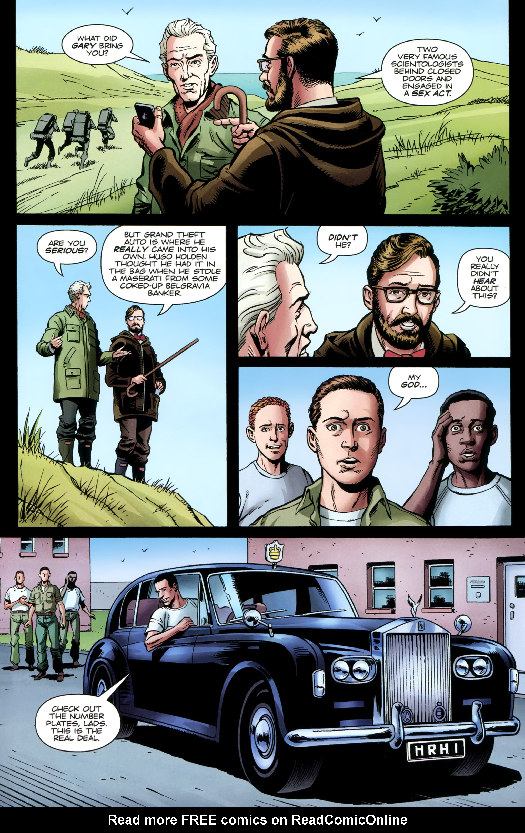 Read online Secret Service comic -  Issue #3 - 12