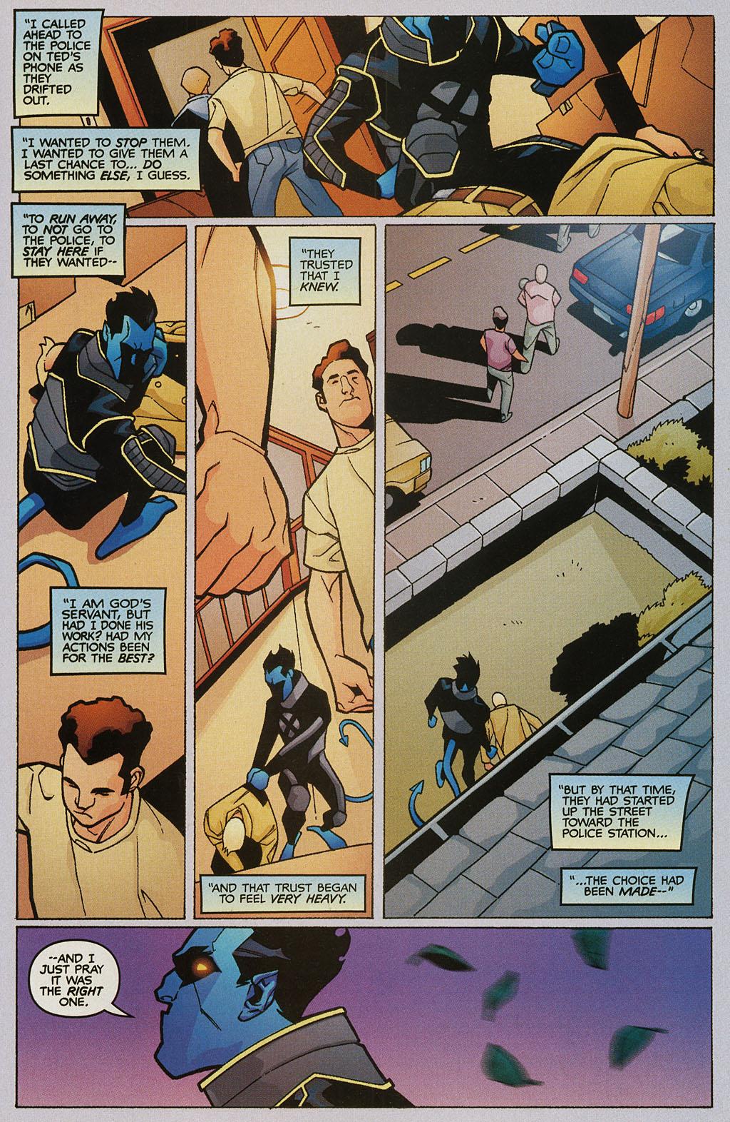 Read online Nightcrawler (2002) comic -  Issue #2 - 21