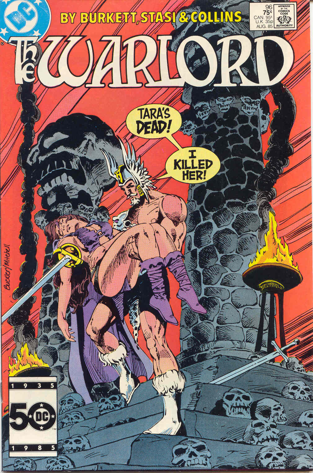 Warlord (1976) issue 96 - Page 1