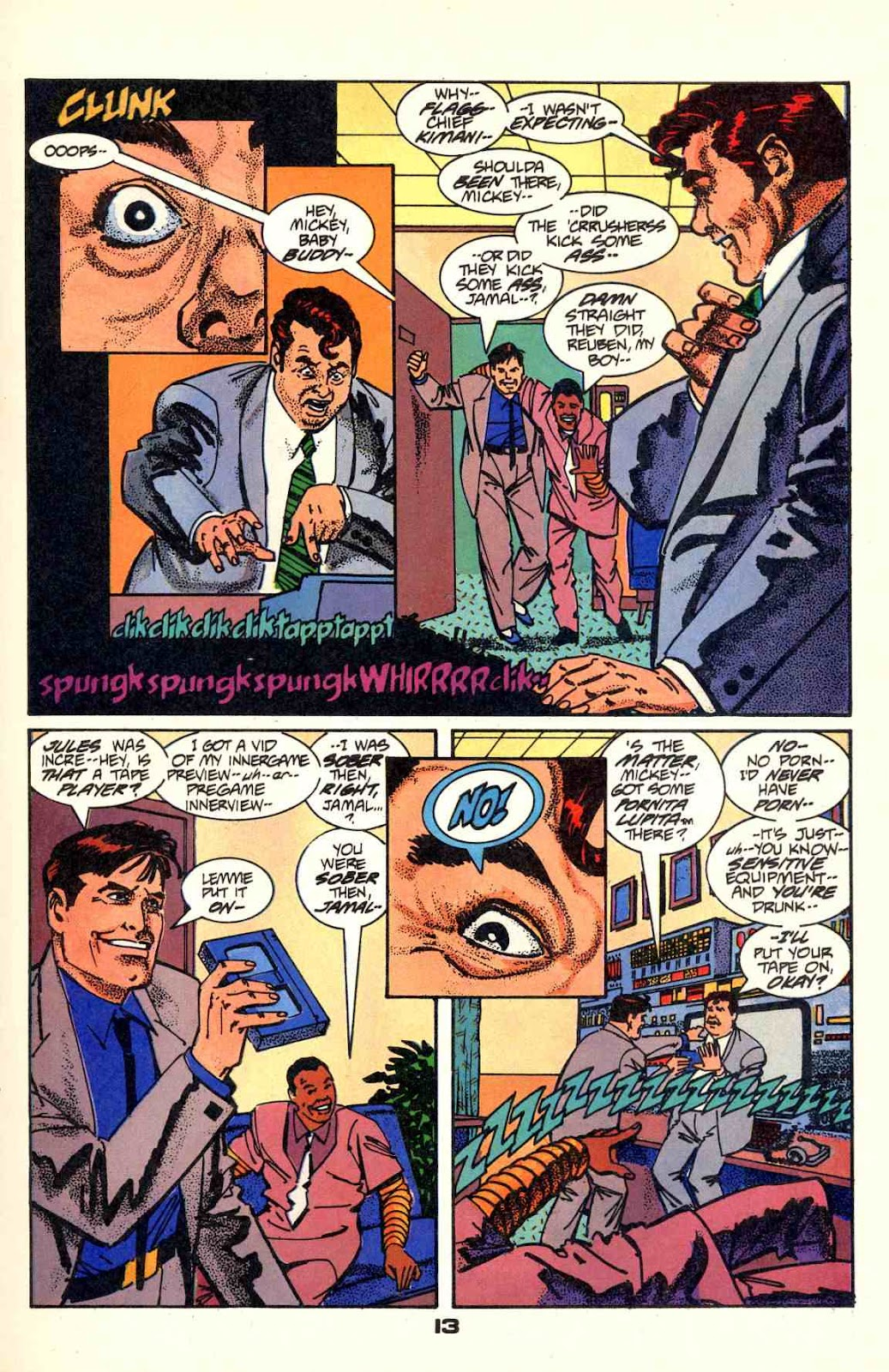 Howard Chaykin's American Flagg issue 2 - Page 15