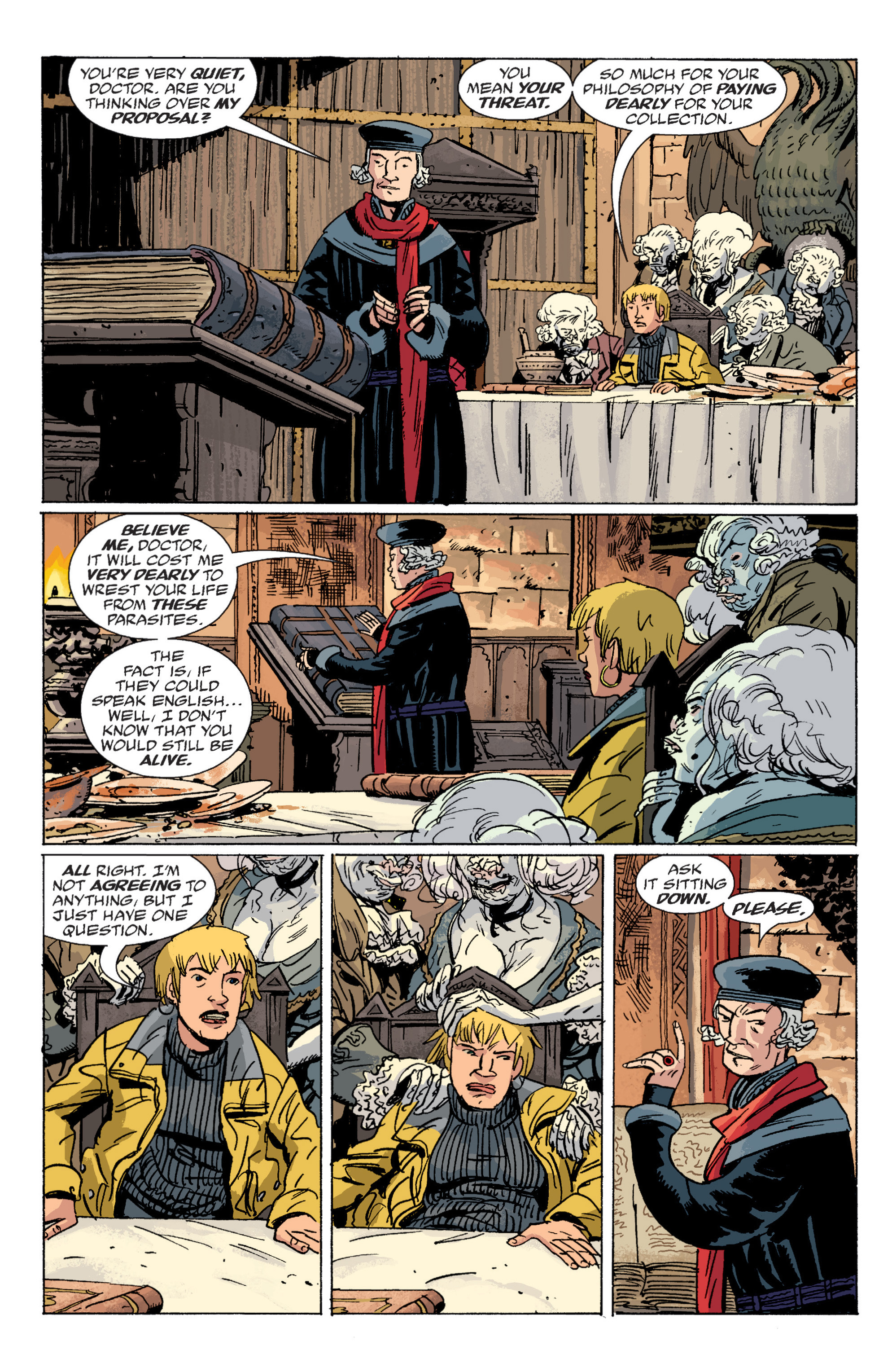 Read online B.P.R.D. (2003) comic -  Issue # TPB 6 - 81