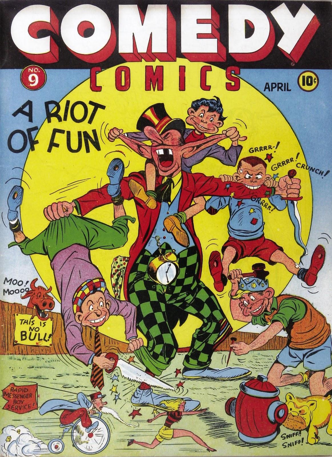 Read online Comedy Comics (1942) comic -  Issue #9 - 1