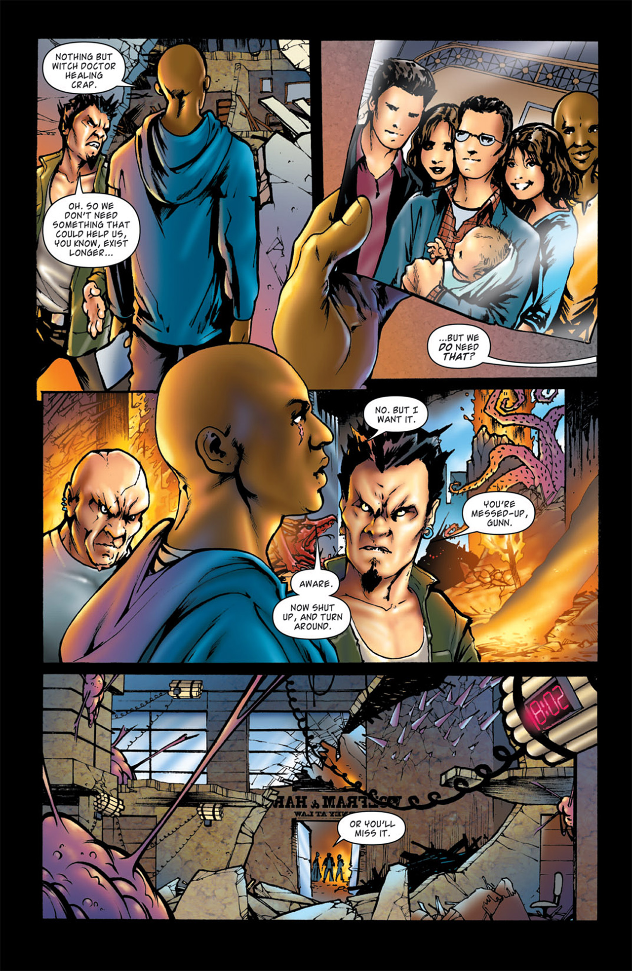 Read online Angel: After The Fall comic -  Issue #4 - 23