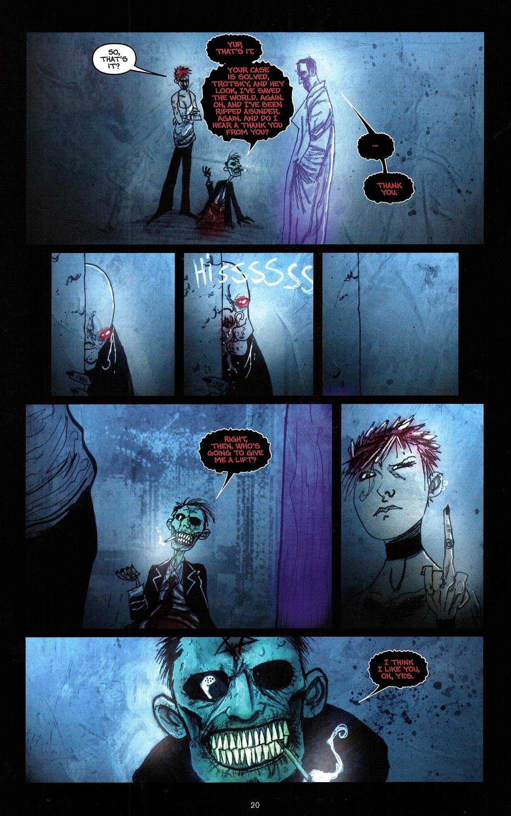 Read online Wormwood: Gentleman Corpse comic -  Issue #4 - 23
