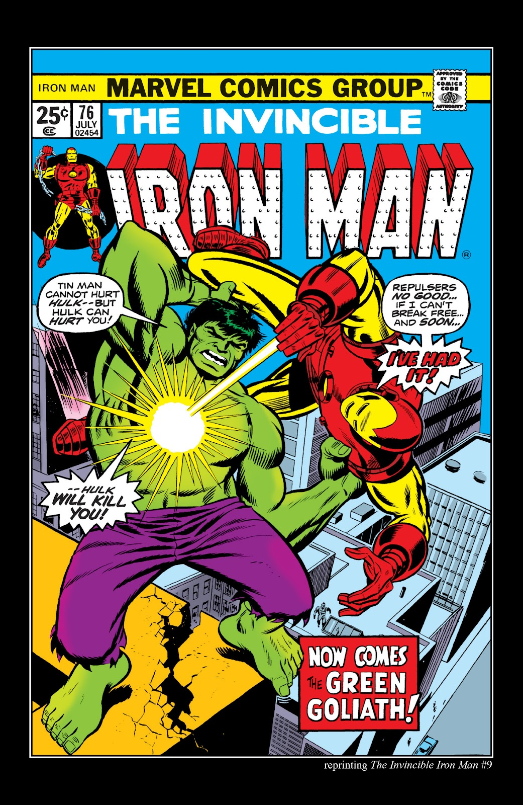 Read online Marvel Masterworks: The Invincible Iron Man comic -  Issue # TPB 10 (Part 2) - 55