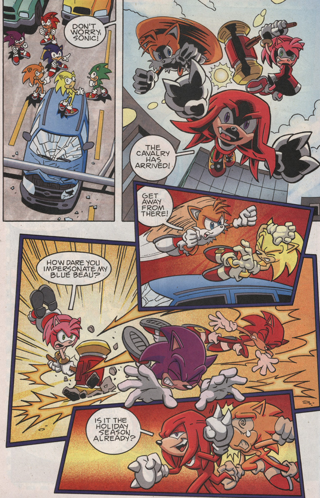 Read online Sonic X comic -  Issue #25 - 16