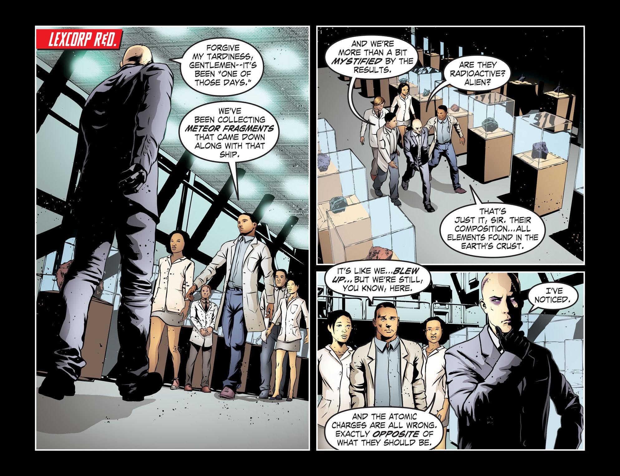 Read online Smallville: Season 11 comic -  Issue #55 - 21