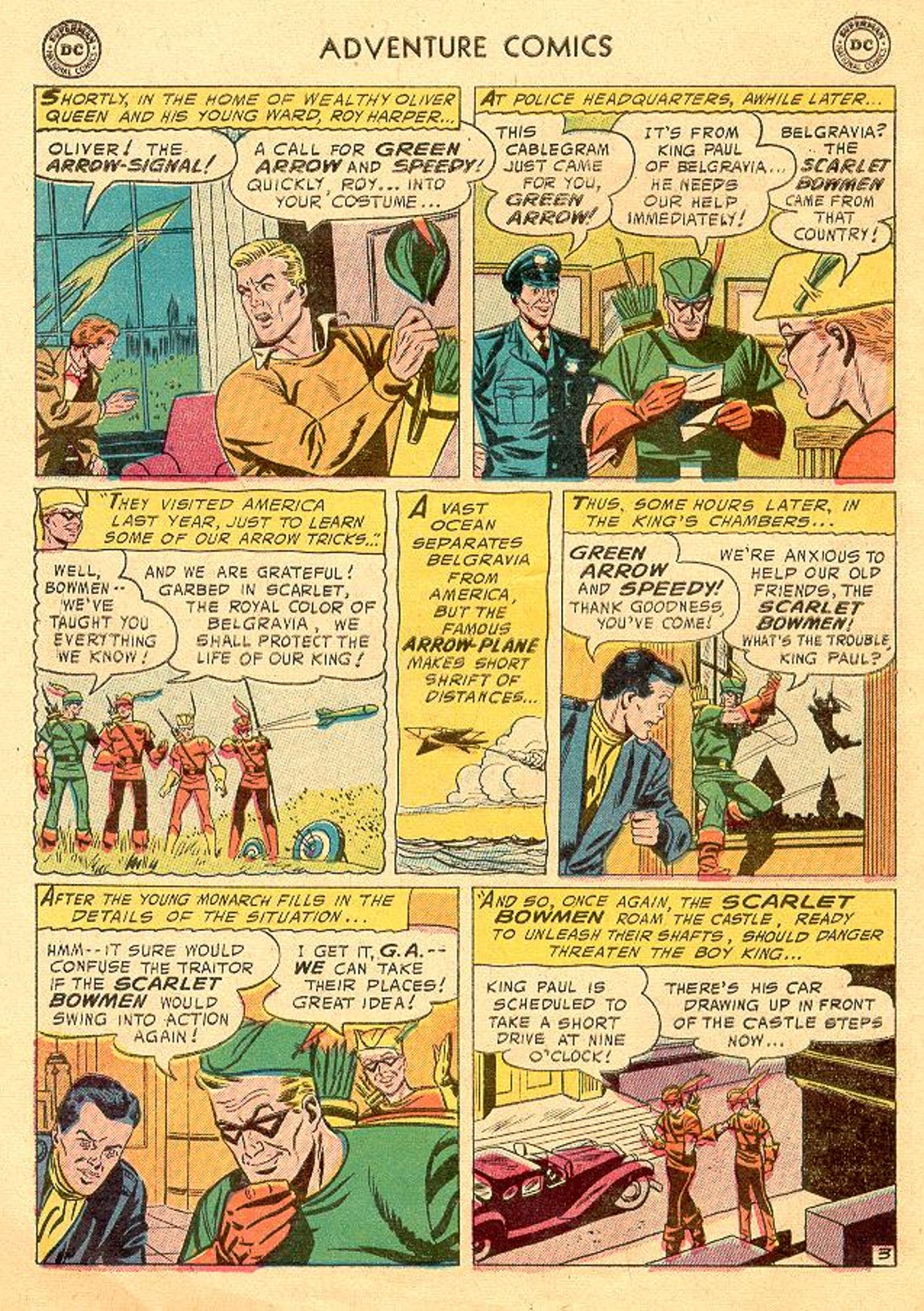 Read online Adventure Comics (1938) comic -  Issue #226 - 30