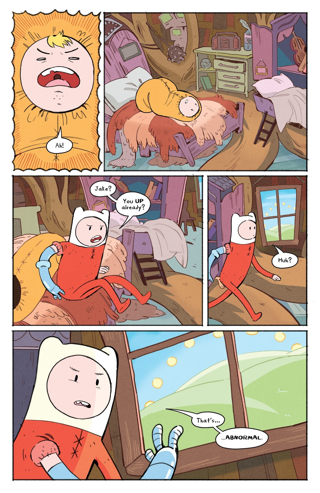 Read online Adventure Time: Beginning of the End comic -  Issue # _TPB - 7