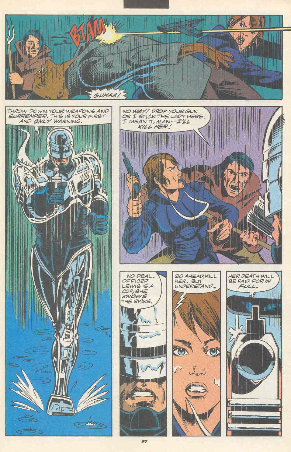 Read online Robocop (1990) comic -  Issue #17 - 21