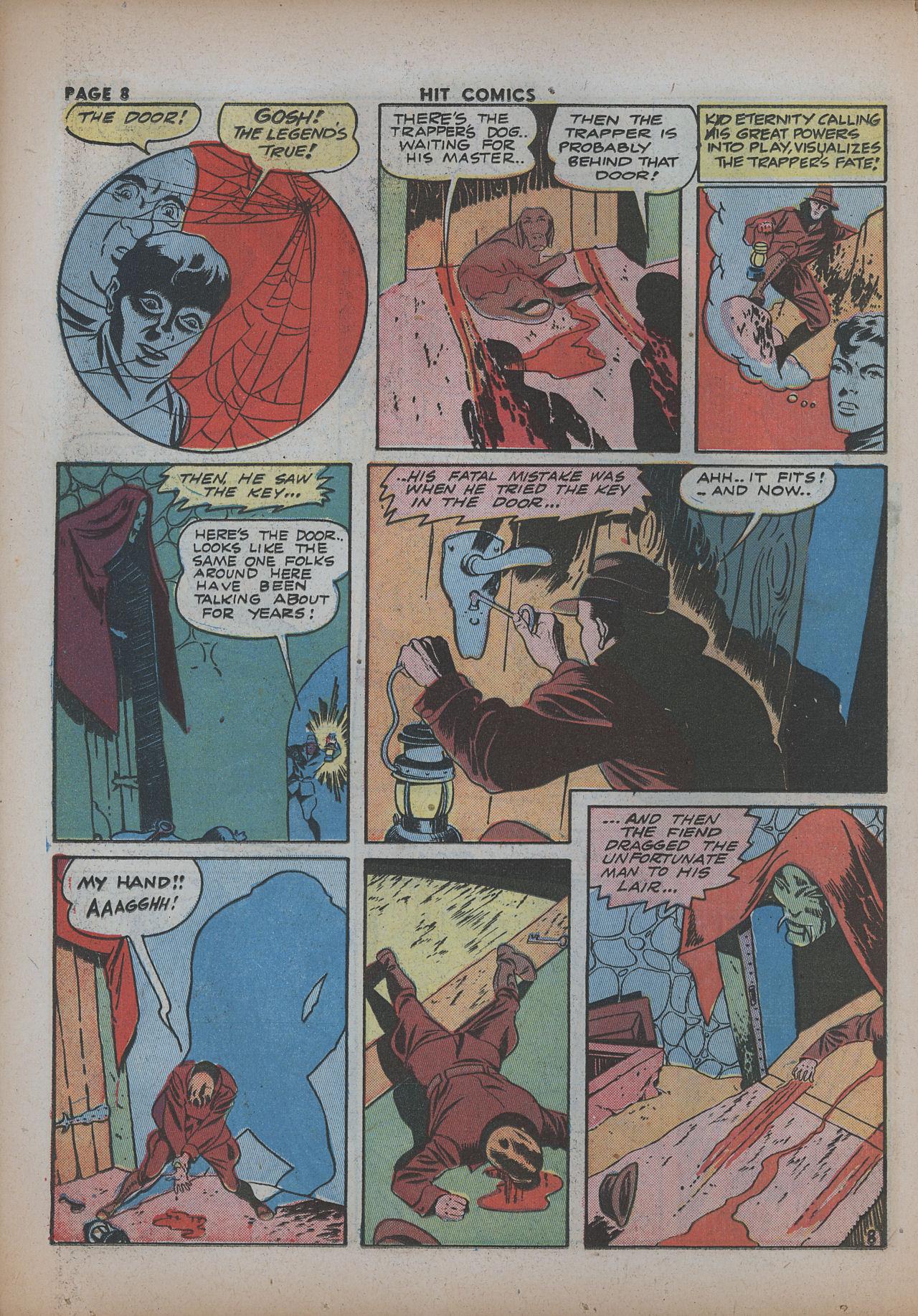 Read online Hit Comics comic -  Issue #26 - 10