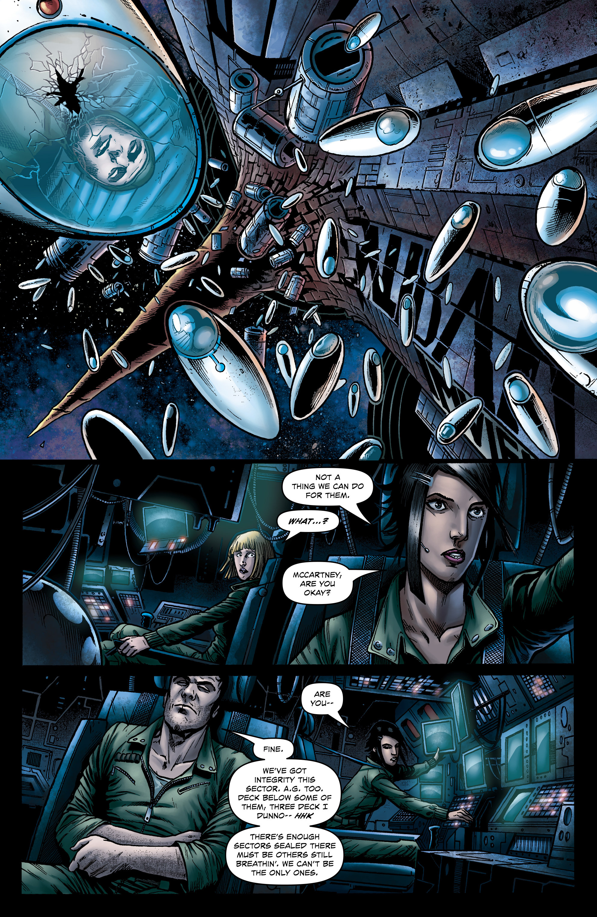 Read online Caliban comic -  Issue #1 - 19