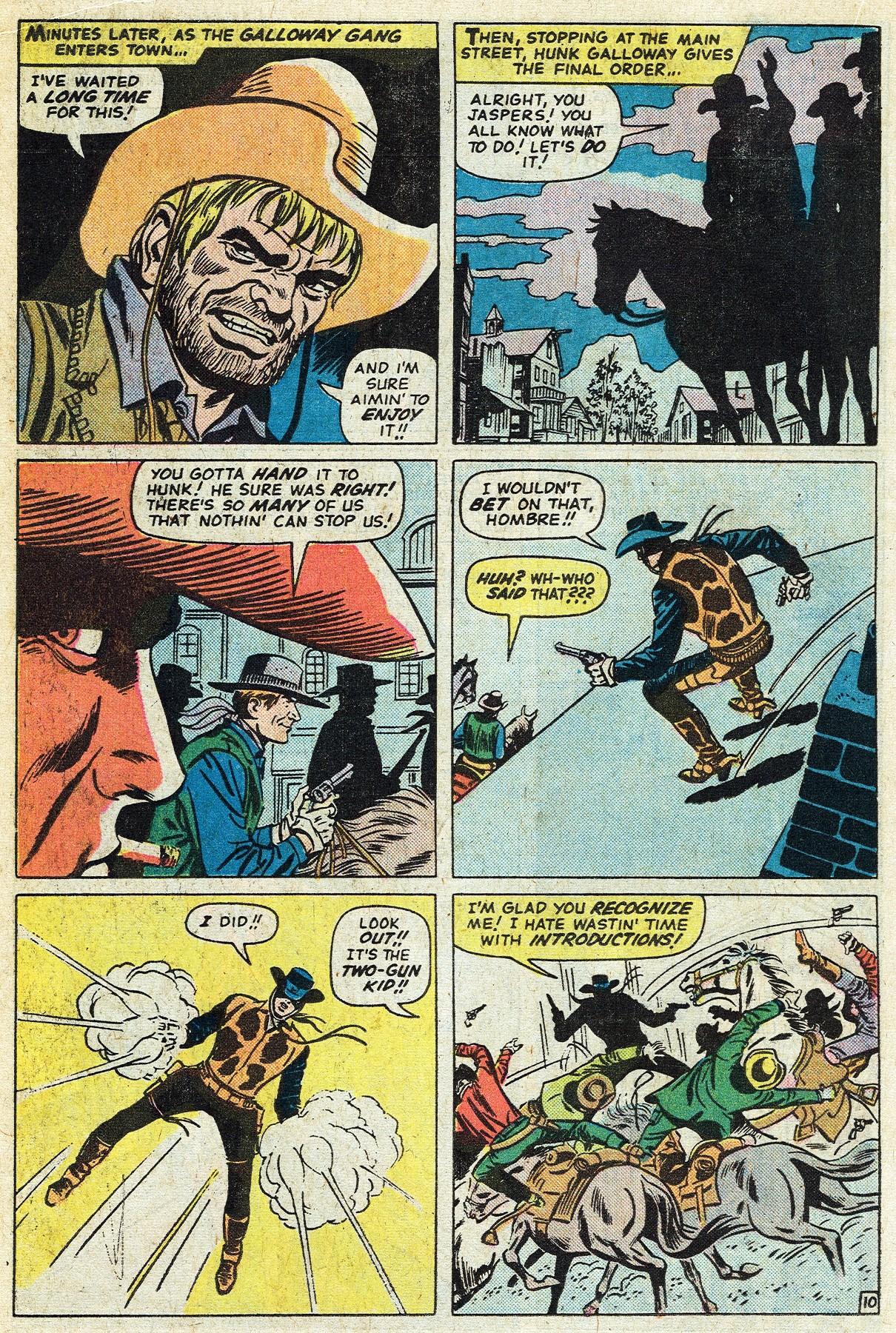 Read online Two-Gun Kid comic -  Issue #122 - 18