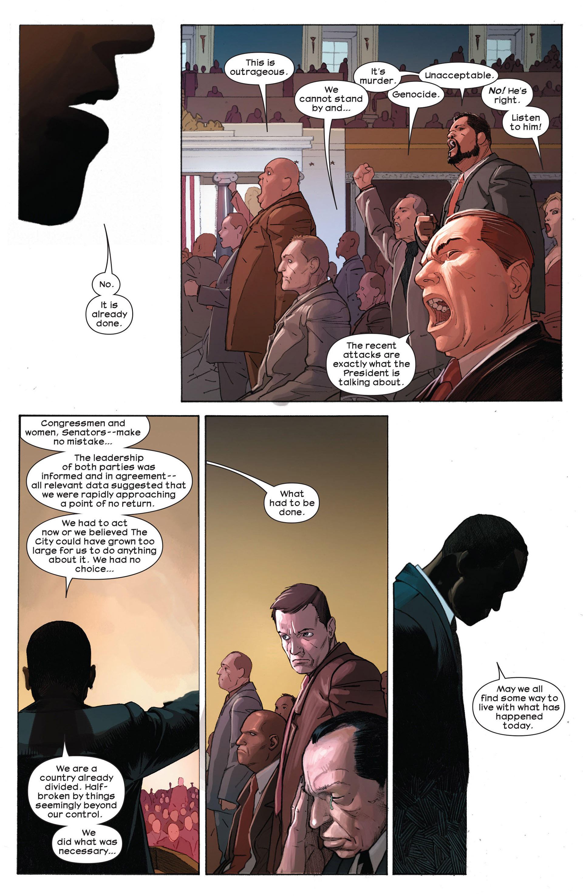 Read online Ultimate Comics Ultimates comic -  Issue #9 - 16