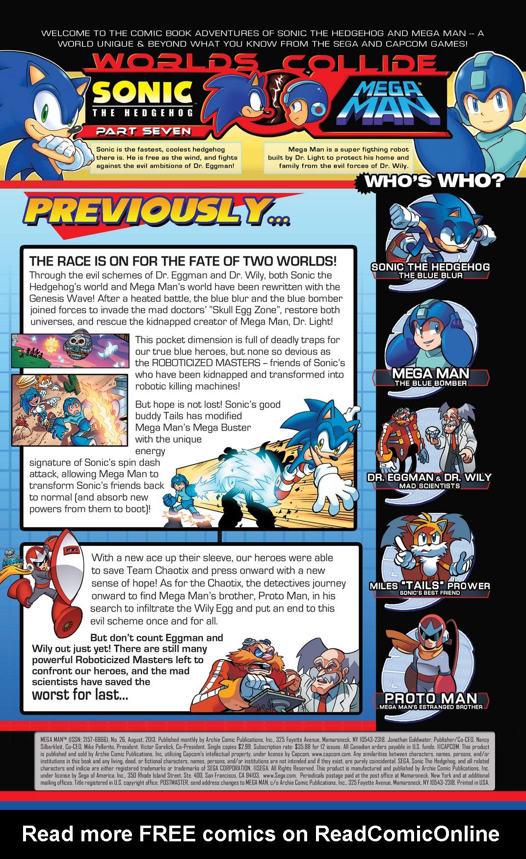 Read online Sonic Mega Man Worlds Collide comic -  Issue # Vol 2 - 59