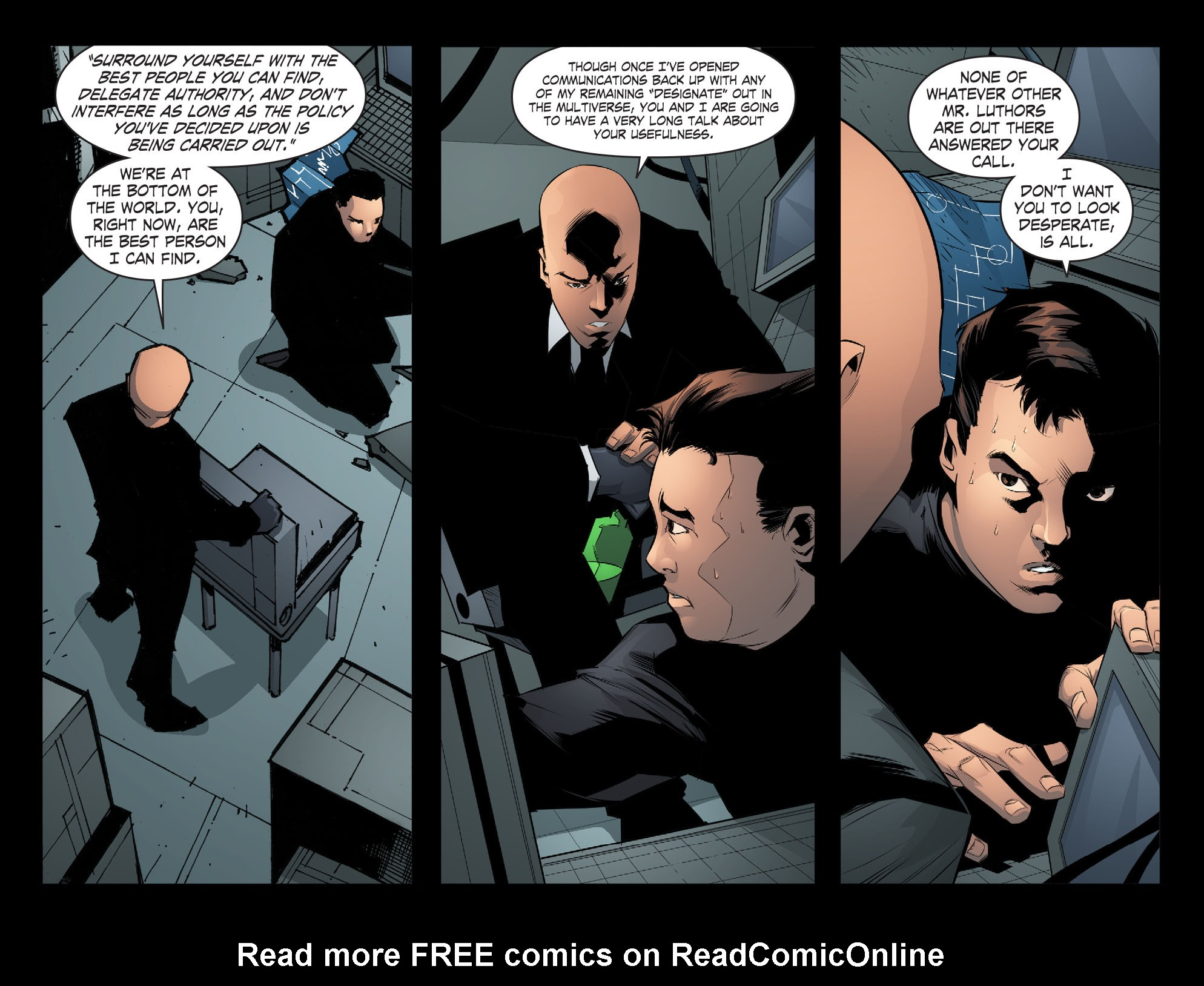 Read online Smallville: Chaos [II] comic -  Issue #6 - 5
