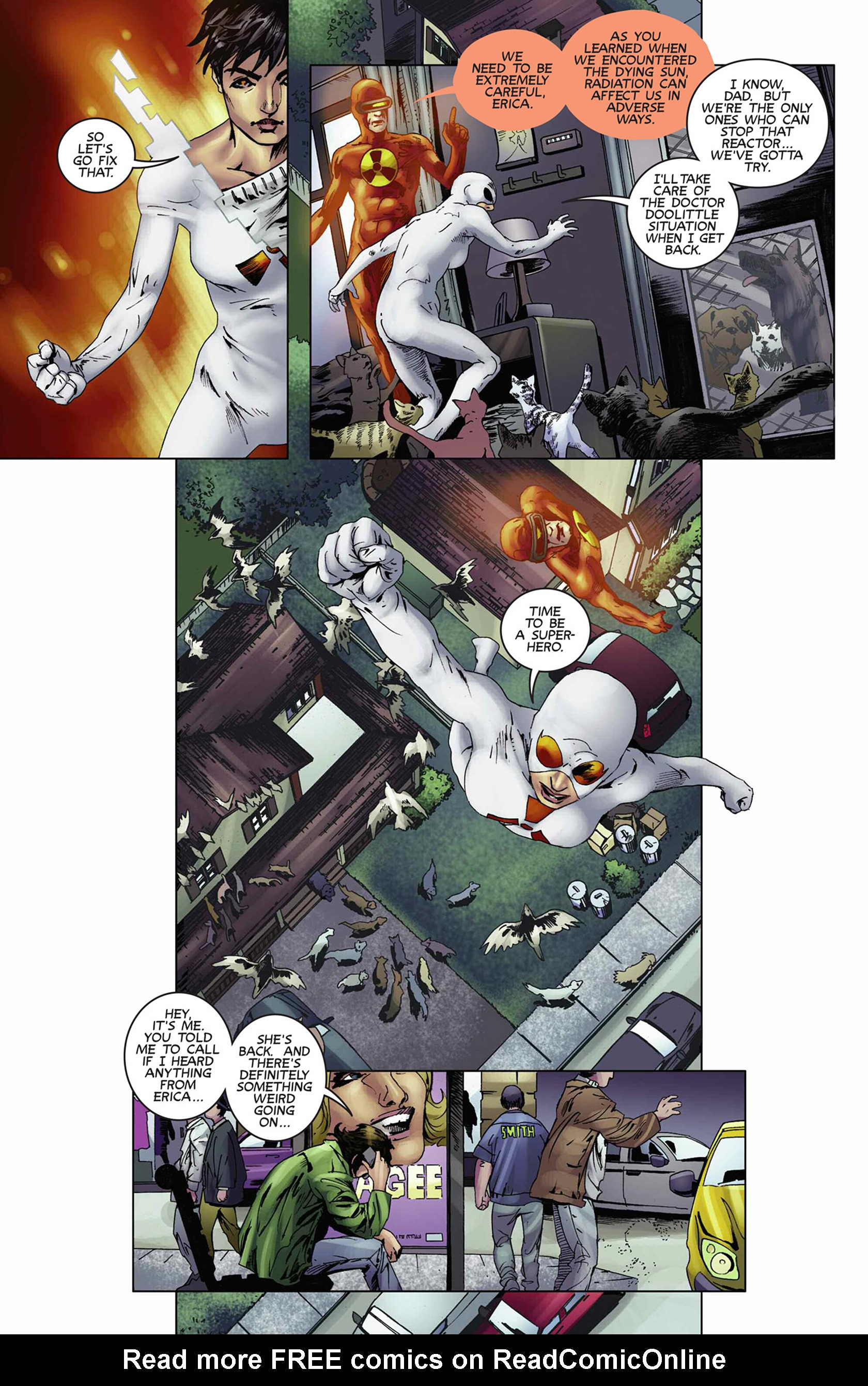 Read online Solar: Man of the Atom (2014) comic -  Issue #9 - 15