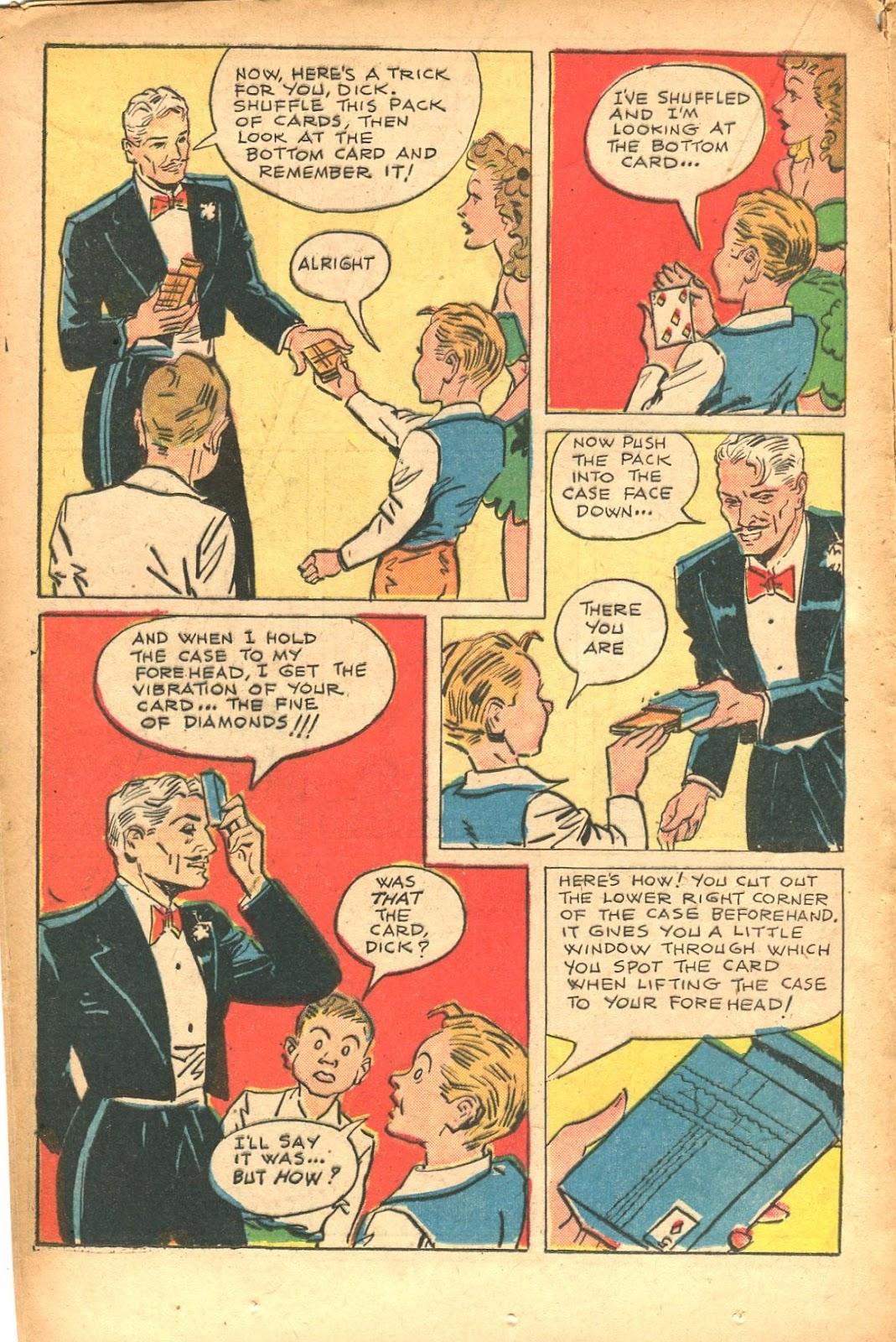 Read online Super-Magician Comics comic -  Issue #35 - 20