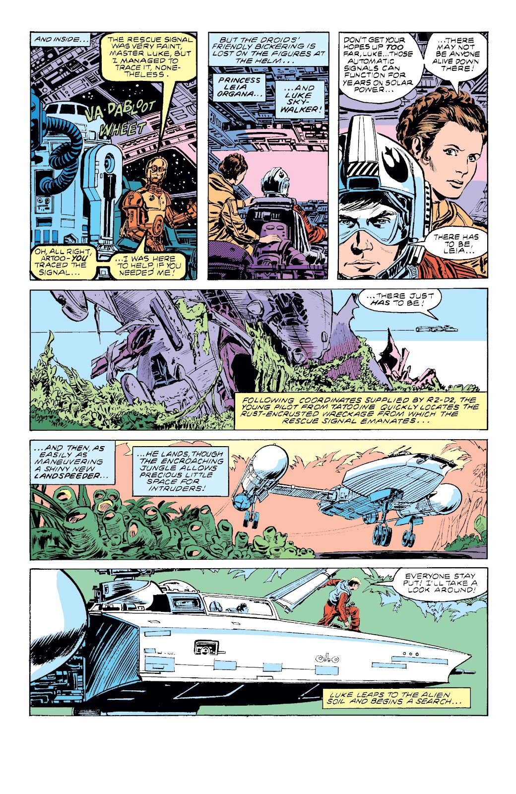 Read online Star Wars Legends: The Original Marvel Years - Epic Collection comic -  Issue # TPB 3 (Part 3) - 7