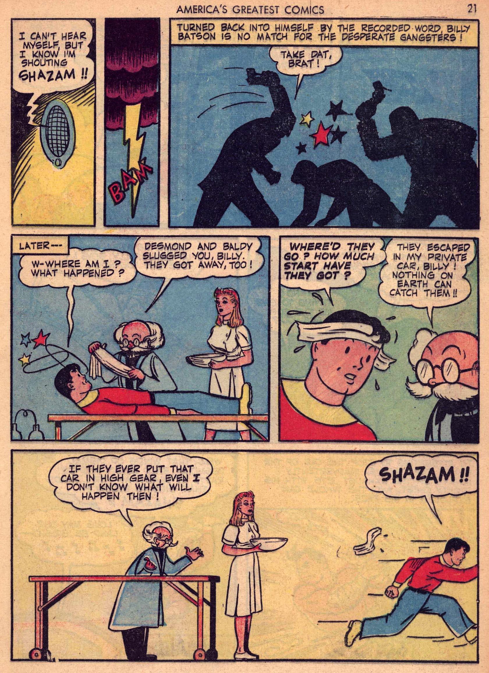 Read online America's Greatest Comics comic -  Issue #7 - 20