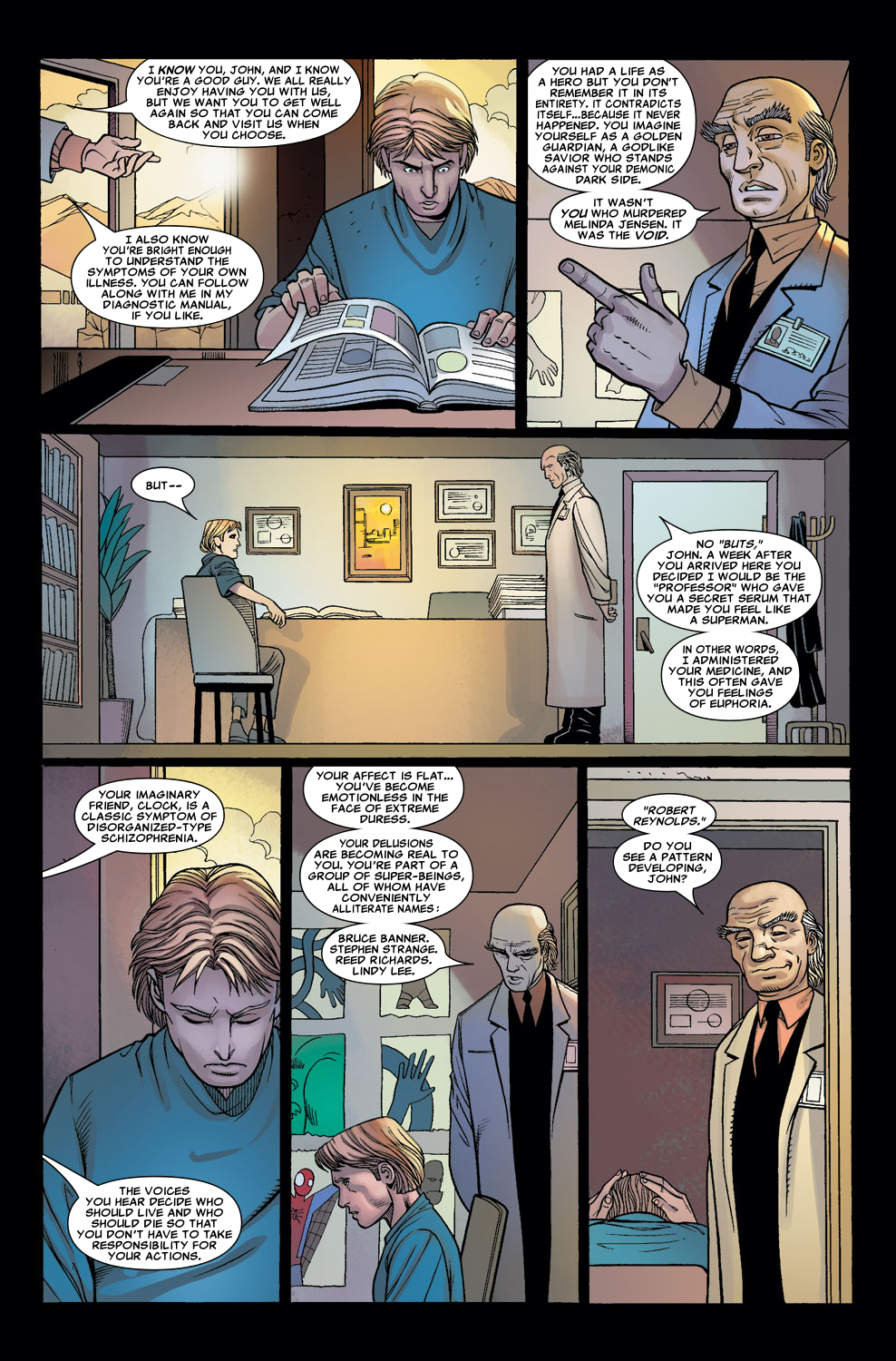 Read online Sentry (2006) comic -  Issue #7 - 11