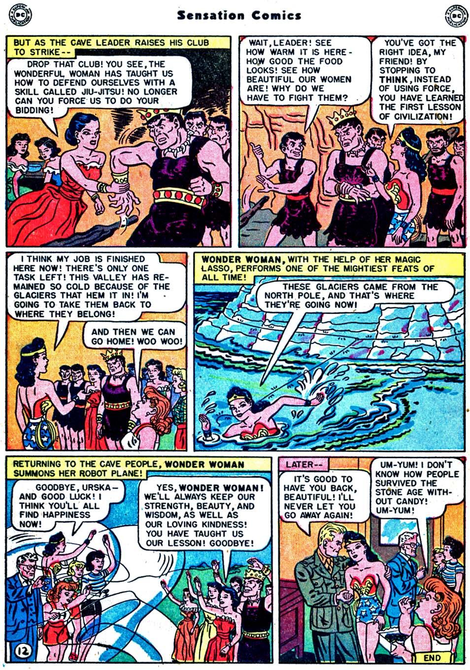 Read online Sensation (Mystery) Comics comic -  Issue #91 - 14