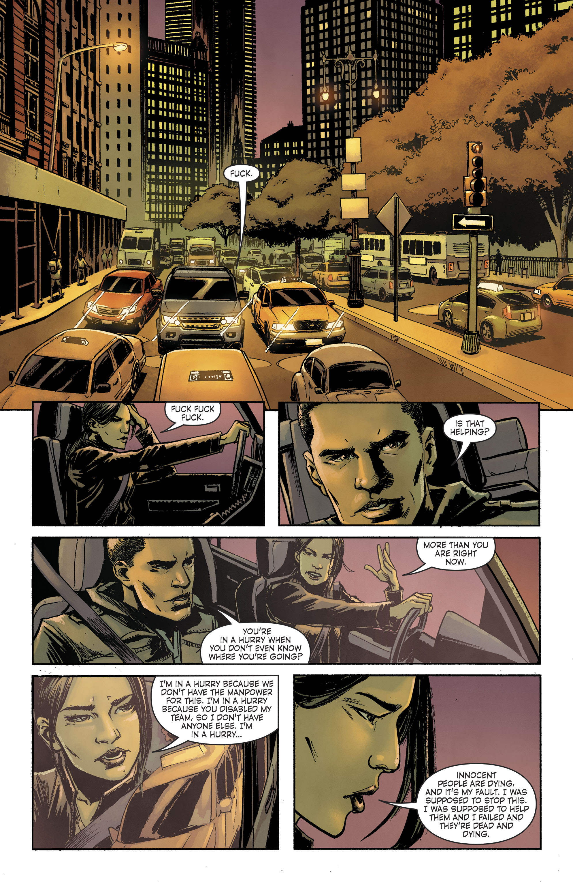 Read online Savage Things comic -  Issue #3 - 7