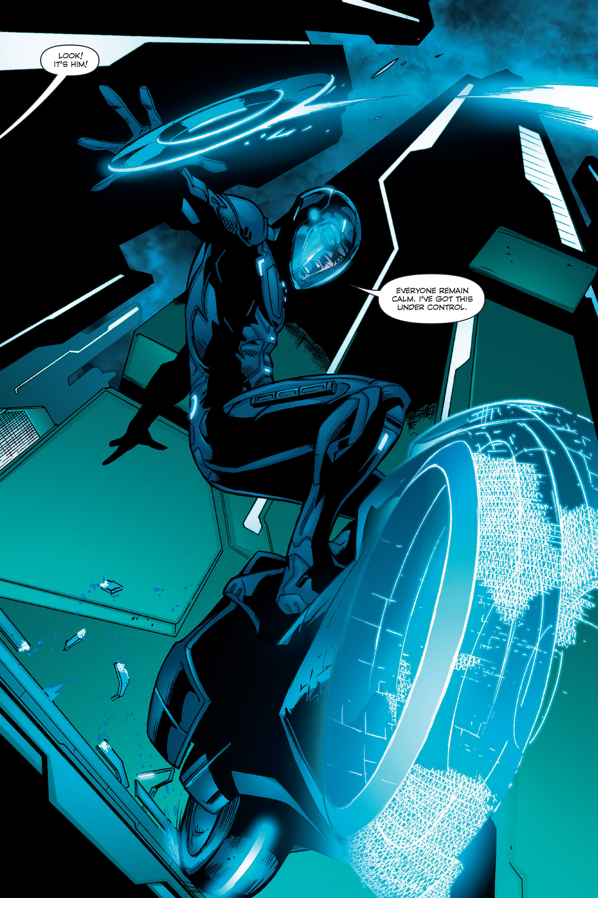Read online TRON: Betrayal comic -  Issue # TPB - 40