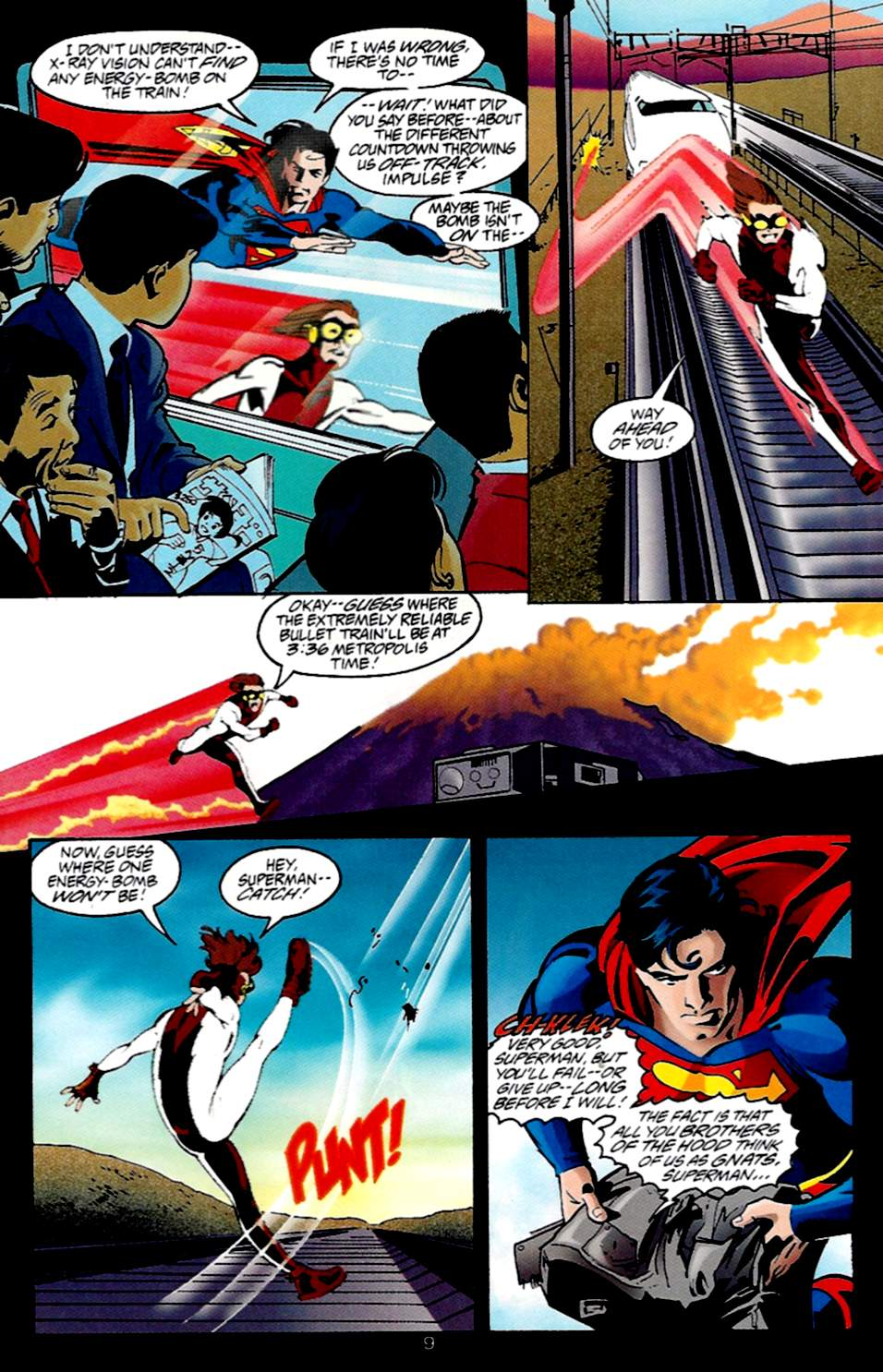 Read online Adventures of Superman (1987) comic -  Issue #533 - 10