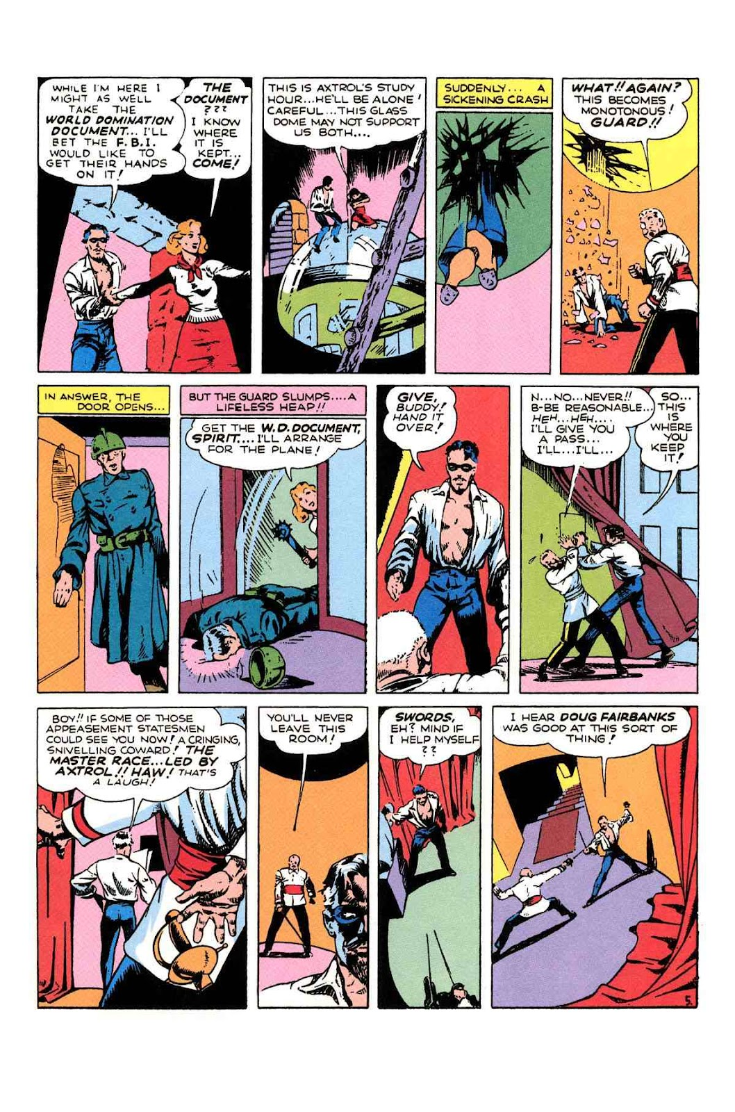 Read online Will Eisner's The Spirit Archives comic -  Issue # TPB 1 (Part 2) - 74
